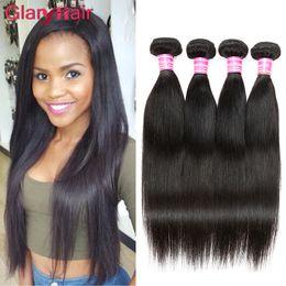 2019 comprimento das extensões de cabelo de 18 polegadas Glary Best Selling Itens Peruano Tecer Cabelo Virgem Barato Peruano Em Linha Reta Extensões de Cabelo Humano Mix Comprimento 18 polegada Best Selling comprimento das extensões de cabelo de 18 polegadas barato