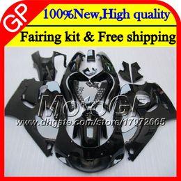 Wholesale 1998 Srad - Body For SUZUKI SRAD GSXR 600 750 96 GSXR750 96 97 98 99 00 20GP10 GSX-R600 Gloss black GSXR600 1996 1997 1998 1999 2000 Motorcycle Fairing