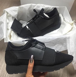 Wholesale Pointed Toe Nude - Name Brand Patchwork Man Woman Lace-up Trainer Casual Shoes Fashion Luxury Nude Mixed Colors Low Top zapatos Mujer Race Runner