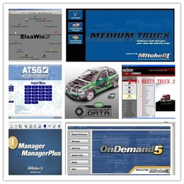 Wholesale Mitchell Manager - Best quality mitchell auto repair software Mitchell on demand + motor heavy truck + mitchell manager plus with 320 GB New HDD
