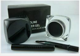 Wholesale Make Up Eyeliner Gel - FREE SHIPPING!high quality makeup waterproof eyeliner gel,make up eye liner 5.5g(100PCS LOT)