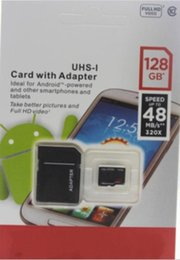 Wholesale I Android - 2017 Hot Selling Android Phone 32GB 64GB 128GB Class 10 Micro SD card microSDHC microSD micro SDHC UHS-1 UHS-I U1 TF Card