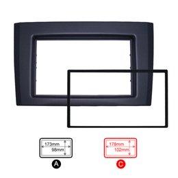 Wholesale Din Dash Installation Kit - FEELDO Double Din Car Radio Fascia for VOLVO XC90 Radio DVD Stereo Panel Dash Trim Frame Installation Kit #5254