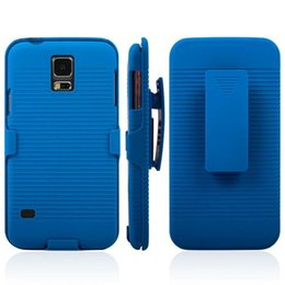 Wholesale Shell Holster Combo - 2 in 1 Belt Clip Detachable Holster Rotary Kickstand Combo PC Hard Case Shell for Samsung Galaxy S6 S7 Edge S3 S4 S5