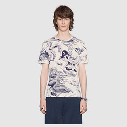 Wholesale Ufo Shirt - Christian religion summer design UFO French men's T-shirt fashion brand high quality hip hop 100% cotton T-shirt free shipping Medusa #44051