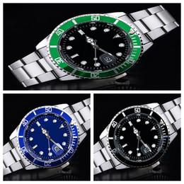 Wholesale Blue Gem Stones - 2017 NEW FASHION Luxury Men Casual Watches Men's Quartz Digital Clock Male Military Waterproof Bussiness Steel Watch