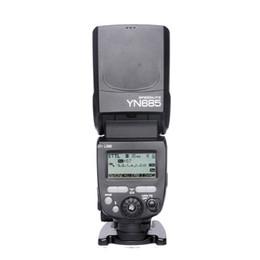 Wholesale Yongnuo Hss Flash - Wholesale-YONGNUO YN685 YN-685 (YN-568EX II Upgraded Version) Wireless HSS TTL Speedlite Flash Build in Receiver Worked with YN-560 IV