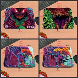 Wholesale Play Computers - Hot Sell Fashionable 2017 New Arrival Top Selling cs go hyper beast Mouse Pad Computer Gaming Mouse Pad Gamer Play Mats