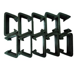 Wholesale Wicker Wholesalers - Pack of 10 Patio Wicker Outdoor Furniture Sectional Sofa Alignment Fasteners Clips Clamps Connectors - Large Size Options-L)