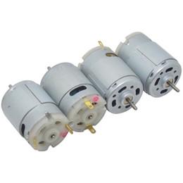 Wholesale 9v Motors - Wholesales RS 360 365 DC Motor 6000-12000 r min 6v 9v 12v For Toy and Hair dryer Motor