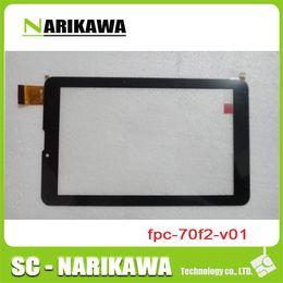 pannello touch screen capacitivo Sconti Wholesale- 1pcs 7 '' pollici Cavo fpc-70f2-v01 Touch Screen Panel Digitizer Schermo capacitivo Schermo a mano Tablet