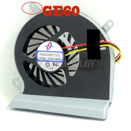 Wholesale Cool Cases For Laptop - Wholesale- New and Original CPU fan for MSI GE70 GE60 laptop CPU cooling fan cooler PAAD0615SL 3pin 0.55A 5VDC N285