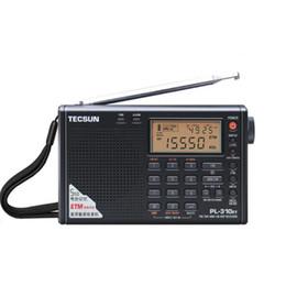 2019 dvd de navegación de lexus Moda Tecsun PL-310ET Radio de Banda Completa Digital Demodulator FM / AM / SW / LW Radio Estéreo envío gratis