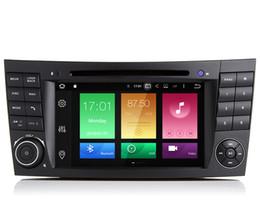 """Equipo de audio de cinta online-7 """"Android 8.0 / 9.0 System Car DVD Player para Mercedes-Benz W211 E350 E400 E420 CLK W209 W463 G350 W219 CLS500 GPS Navi Tape Grabador 4G RAM"""