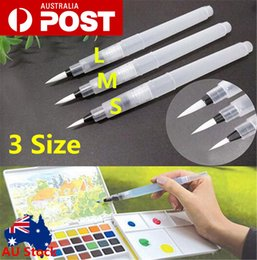 Wholesale Refill Brush - 3 Size Refillable Pilot Water Brush Ink Pen for Painting Calligraphy Watercolor