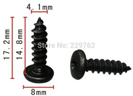 Wholesale Wholesale Tap Shoes - clip shoe Free Shipping 100PCS Round head cross tapping screw auto fasteners car metal clip Automotive metal fastners