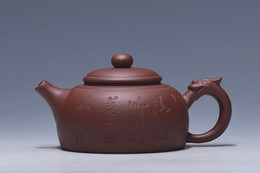 Wholesale Black Clay Teapot - Handmade Single Teapot Capacity 310ml Purple Sand For Drink Special Teapot From China Keep Black Tea More Tasted
