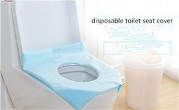 Wholesale Wholesale Toilet Paper Free Shipping - Wholesale Disposable Paper Toilet Seat Covers Camping Festival Travel Loo wc mat For travel Free Shipping