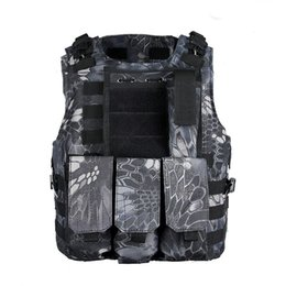 Wholesale Molle Carrier Vest - Tactical outdoor riding cycling Molle Plate Carrier Vest clothing vest