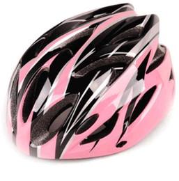 lente conduzida Desconto Bicycle bicycle road car a integrated model of cycling helmet men and women