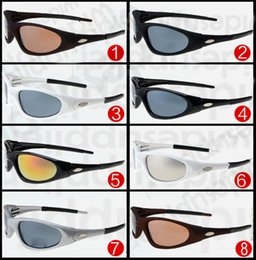 Wholesale Cheap Branded Frames - Hot Cheap Sunglasses for Men and Women Outdoor Sport Cycling Sun Glass Eyewear Brand Designer Sunglasses Sun shades 8 colors free Shipping