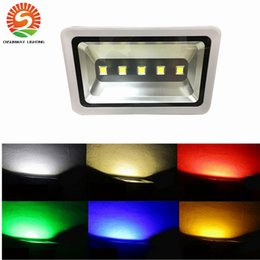 Wholesale Energy Saving Flood Light - Brightest 5 LED Flood Light 250W RGB Color changing Energy Saving Security Energy Spot Light Indoor Outdoor For Court Yard Parking Place