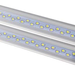 Wholesale lumen led bulbs - High Lumen T8 G13 1.2M 1200MM LED bulb 4FT 4feet SMD2835 T8 LED Tube 18W 22W 28W Cold White 6500K 100LM W