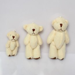 Wholesale Teddy Bear Couple Cartoon - 1pack 20pcs Mini Joint Bear Plush toys Wedding gifts Kids Cartoon toys Christmas gifts Couple Gifts Wholesale Hot sales