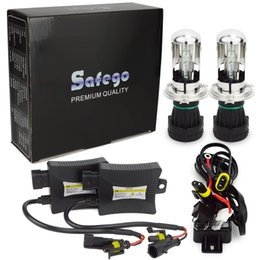 Wholesale Universal Wiring Kit - DC 12V 55W Hi Lo Bi Xenon HID Kit Bi-xenon H4 bi xenon 4300k 6000k 8000k 10000k 12000k with Wire Harness Ballasts
