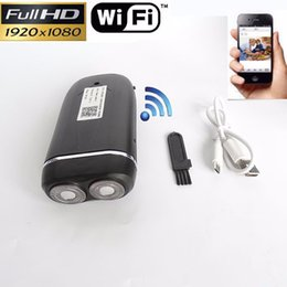 Wholesale Spy Razor - Wireless HD 1080P SPY Hidden Shaver Camera Wifi Network DVR Video Real Electric Razor DVR Video IP Recorder P2P Nanny Cam