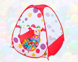 Wholesale Fold Up Tent - Kids Play Tents Children Indoor Outdoor Pop Up Tent Baby Game House Garden Folding Portable Toy Tent