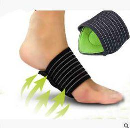 Semelles orthopédiques 1 paire de repose-pieds de massage Supports pour voûte plantaire orthopédique Semelles de pied plat Chaussures de protection Accessoires Inserts pour chaussures Soins des pieds ? partir de fabricateur