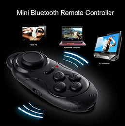 Wholesale Wireless Bluetooth Gamepad Controller Wholesale - New Bluetooth Selfie Shutter Remote Control Gamepad Wireless Smart Mouse For IOS Android PC VR Box Most Smart Devices