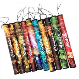 Wholesale Types E Cigarette Batteries - ShiSha pen Disposable Electronic cigarette Shisha disposable E cigs 500 puffs 34 type Various Fruit Flavors Hookah pen 280mAh battery