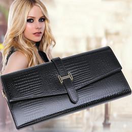 Wholesale Bead Mobile Phone Chain - The new 2017 mobile phone wallet wallet female wallet Ms. Long clutch bags female zipper purse bills clip Korean women's purse erkek cüzdan