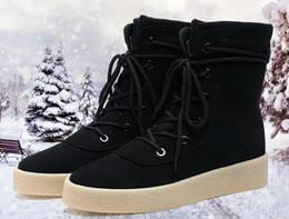Wholesale Boots Fashion Platform Vintage - Brand Classical Vintage Chelsea Boots Handmade All-matching Kanye Boots Crepe Bottom Casual Platform High Men's Shoes Botas