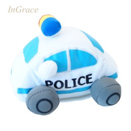 Wholesale Cheap Stuffed Toys - Wholesale-STUFFED car toys for baby education toys cheap high quality cars printed model car free shipping boys gift mini cute