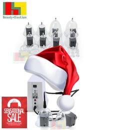 Wholesale Nipple Vibrating Pump - 2017 Newest Electric vibrating Vacuum Nipple hip Massage vacuum Therapy Beauty Machine Enlargement Pump Lifting For Breast Enhancer Massager