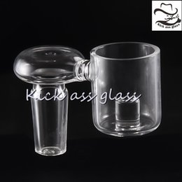 Wholesale Pipe Polishing - Quartz Core Reactor Banger Nail Female Male Polished Joint 10mm 14mm 18mm Dab Tool Water Pipe for Oil Rigs 604