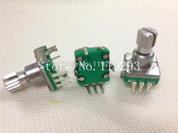 Wholesale Bit Car - Wholesale- [BELLA]Taiwan produced 360 rotary pulse encoder coding switch potentiometer EC11-30 -bit audio car switch 11.5KQ--100PCS LOT