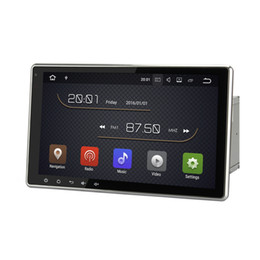 "Wholesale Double Din Car Radio Universal - 10.1"" Quad Core Android 7.1 Universal Auto Car DVD Stereo Double Din GPS Navi BT 4.0 Phonebook SWC OBD DVR WIFI 4G Network 2G RAM 16G ROM"