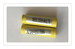 Wholesale Ecig Mod Free Shipping - Original HG2 HE4 18650 Batteries 3000mAh 30A Battery High Drain 3.7v for Ecig Mechanical Mod By Fedex Free Shipping
