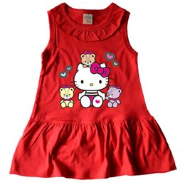 Wholesale Lovely Baby Model - children dress summer lovely girl clothing 12clours sleeveless clothes for baby girl new model