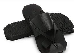 koreanische männer sandalen Rabatt Sommer neue Herrenschuhe Zehe Y3 schwarz Warrior Beach Drag Sandalen lässig koreanische Version der männlichen Schuhe Leder Drag