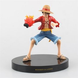 Wholesale Toy Fist Gun - LilyToyFirm New! One Piece ZERO Luffy Fire Fist Gun Armed Color PVC Figure Collect Modelo toy