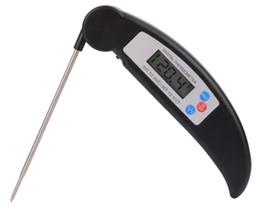 2019 incorporação acrílica YS103 sn012B PT301 Cozinha Dobrável Cozinhar Alimentos Sonda de Carne Termômetro Digital Eletrônico PARA CHURRASCO Forno a gás Termômetro Cozinhar grade termômetro