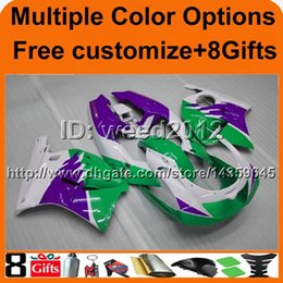 Wholesale 93 Kawasaki Ninja Fairings - 23colors+8Gifts GREEN ZXR250 93-97 ZX R250 1993 1994 1995 1996 1997 motorcycle ABS fairing for Kawasaki