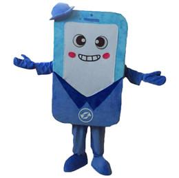 телефон костюм талисмана EMS бесплатная доставка, высокое качество карнавал партия фантазии плюшевые прогулки талисман телефона взрослый размер. от