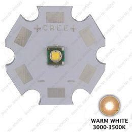 Wholesale Cree Q5 Led Emitter - Wholesale- 5PCS Cree XLamp XPE XP-E Q5 Warm White 3000K 1W 3W High Power LED Light Emitter w  20mm Star Base