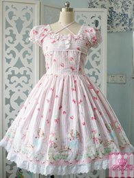 Wholesale Halloween Dress Witch - Can Be Custom 2015 Hot Sale Cotton Printing sheep garden OP Lolita Dresses